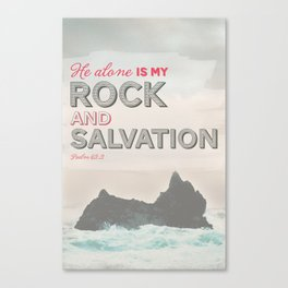 Rock & Salvation Canvas Print
