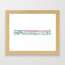 Chopin Prelude (Miami Beach Colours) Framed Art Print