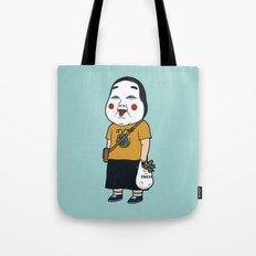 Joyful Girl Tote Bag