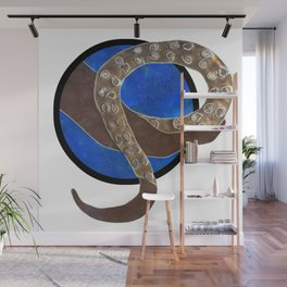 Creature of Water (porthole edit) Wall Mural