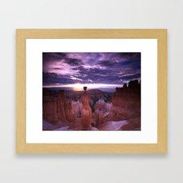 Thor's Hammer (Bryce Canyon National Park) Framed Art Print