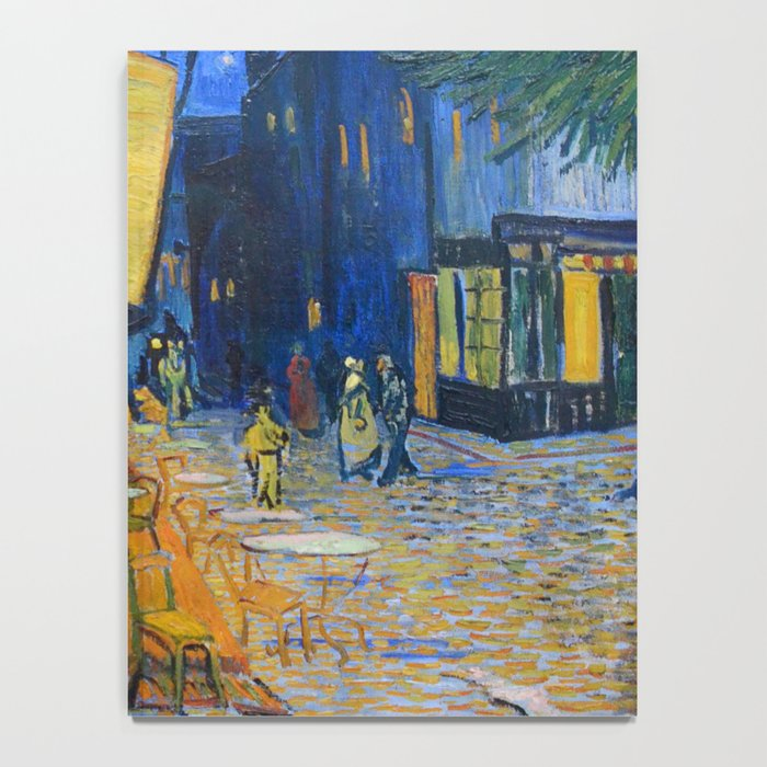 Vincent Van Gogh - Cafe Terrace at Night Notebook