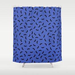 Memphis pattern 39 Shower Curtain