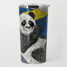 Panda on a Tree Travel Mug