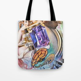 Angels with Snakes and Jewels Tote Bag