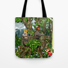 Little Explorers Tote Bag