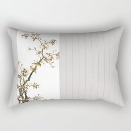 Wild Love Bridsong Spring Nature World Rectangular Pillow