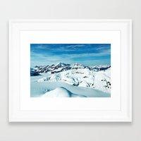 alaska Framed Art Prints featuring Alaska by Elise Giordano