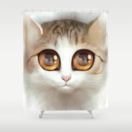 Kitten 2 Shower Curtain