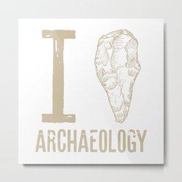 I love archaeology #2 Metal Print