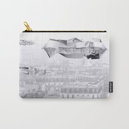Heavy clouds above Paris Carry-All Pouch