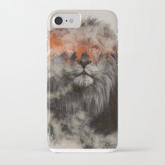 Lion In Fog Slim Case iPhone 7
