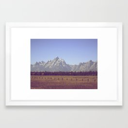 Against The Grain Framed Art Print