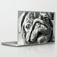pug Laptop & iPad Skins featuring Pug by Falko Follert Art-FF77