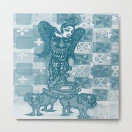 Dog Days Of  The Apocalypse Metal Print