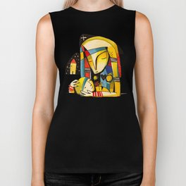 Mother and Child - Home Biker Tank
