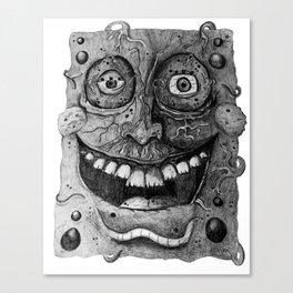 Disturbing Spongebob Canvas Print
