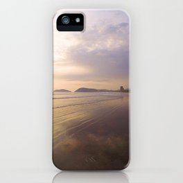 Long Walks On The Beach iPhone Case