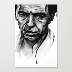 Only the Lonely - Frank Sinatra Canvas Print