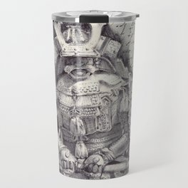 Samurai Observational Drawing Travel Mug