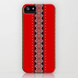 TANA TORAJA FABRIC MOTIF iPhone Case