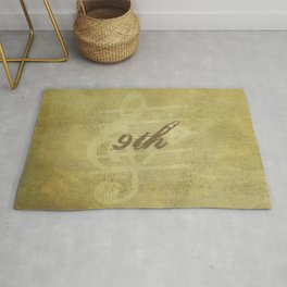 Beethoven's 9th Symphony Rug