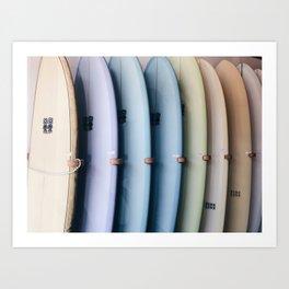 SURF'S UP / Los Angeles, California Kunstdrucke