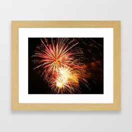 firework. Framed Art Print