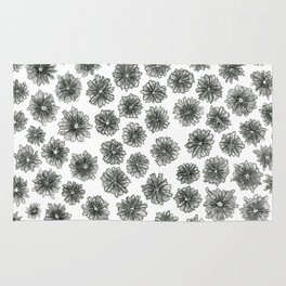 Coneflower Pattern Rug