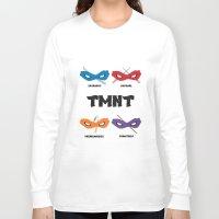 teenage mutant ninja turtles Long Sleeve T-shirts featuring Teenage Mutant Ninja Turtles by DSCDESIGNS