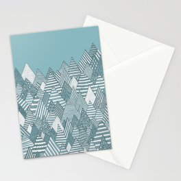 Winterly Forest Stationery Cards