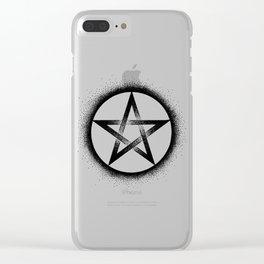 Pentagram Clear iPhone Case