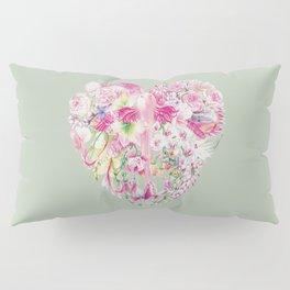 Blush Heart Pillow Sham