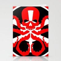 hydra Stationery Cards featuring Hydra Empire by •tj•rae•