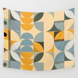Soft Summer - Geometric Pattern Wall Tapestry