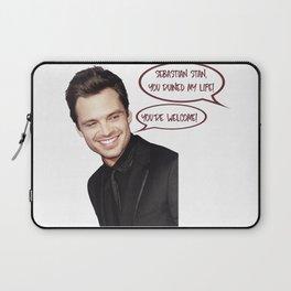 Sebastian Stan Ruined Me Laptop Sleeve