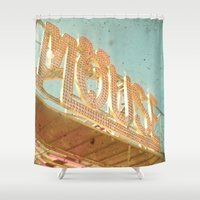 mouse Shower Curtains featuring Mouse by Cassia Beck