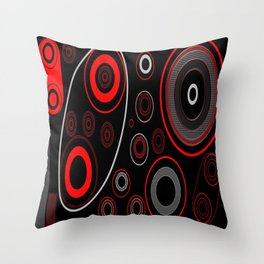 Black&Red Combination Throw Pillow