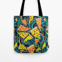 Pizza Meditation Tote Bag