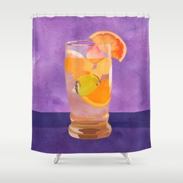 Butterfly Fish Tea by Kenzie McFeely Shower Curtain