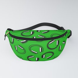 Headphones-Green Fanny Pack