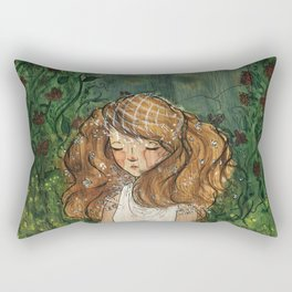 Ginger Bride Rectangular Pillow