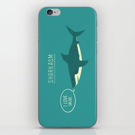 Sharkasm iPhone Skin