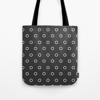 circles Tote Bags featuring Circles by Nobu Design