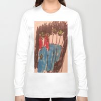 zombies Long Sleeve T-shirts featuring Zombies  by Drake Darklight