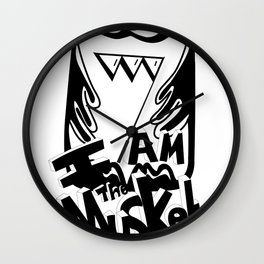 I am the Musket Wall Clock