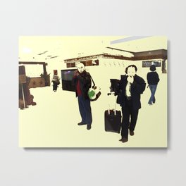 Ready To Commute Metal Print