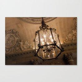 Lights of Versailles Canvas Print