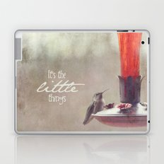 It's The Little Things Laptop & iPad Skin