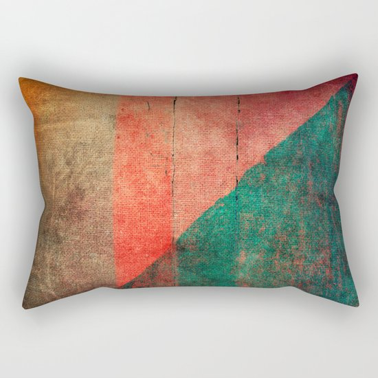 A Idade da Terra (The Age of the Earth) Rectangular Pillow